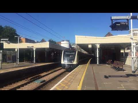 TfL Rail Class 345 012 Passing Ilford for London Liverpool Street Not I'm Service