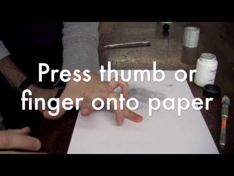 Fingerprints from paper