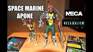 Aliens Space Marine Sgt Apone Action Figure Neca
