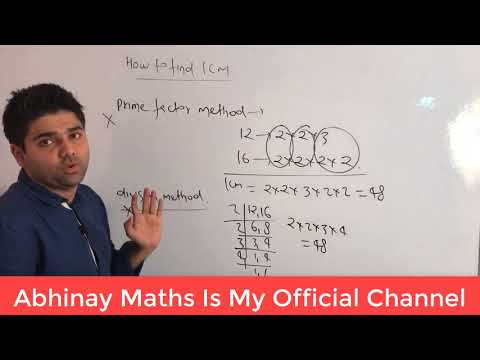 LCM Part - 1 By Abhinay Sharma (Abhinay Maths) 😲 SSC CGL Mains 2017 😲