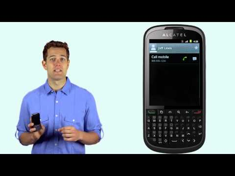 ALCATEL ONE TOUCH PREMIERE Phone Calls and Voicemail