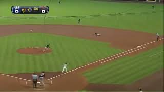 Download Zack Grienke Spikes Ball, Is Ejected after Four Pitches Video