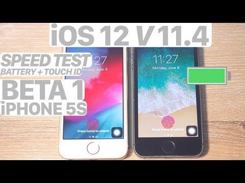 iOS 12 vs. iOS 11.4 SPEED Test + BATTERY + BENCHMARK! (iPHONE 5S) #iOS12 #iOS #WWDC #iPhone5S #iOS11