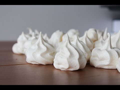 How To Make Vanilla Meringue Cookies - By One Kitchen Episode 75