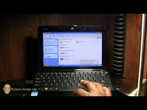 How To Install Windows XP Onto An ASUS NetBook From USB