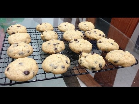 Mini Chocolate Chip Cookies Recipe almost like Famous Amos cookies!