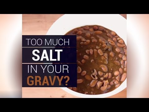 Tips To Remove Excess Salt in Curries | Salt Hack