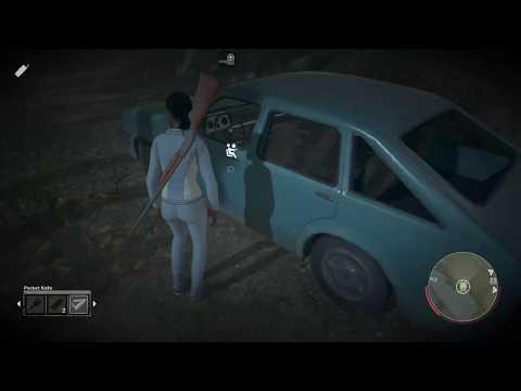 Juking Jason with car