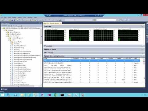 SQL SERVER 2014 - Activity Monitor