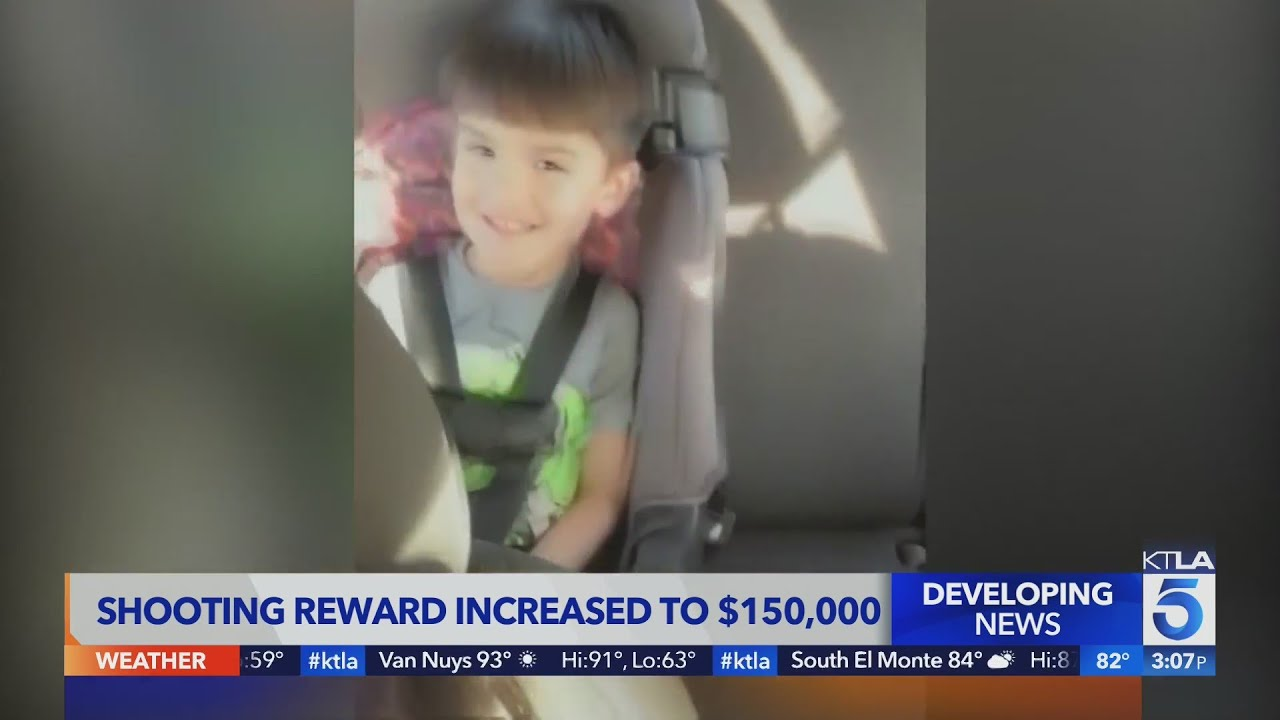 Reward increases to $150,000 amid search for killer of 6-year-old boy in 55 Fwy road rage shooting