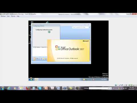 Setup Outlook 2007 with S-MIME