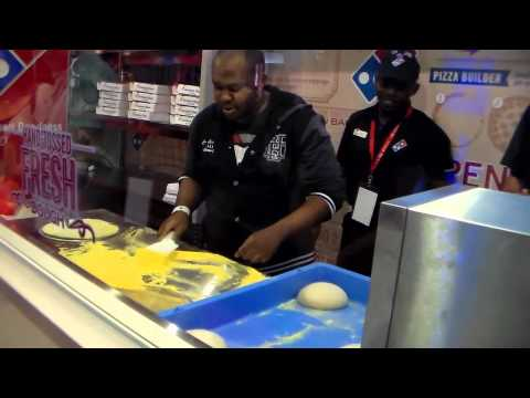IFE Franchise Expo South Africa - Domino's Pizza Competition
