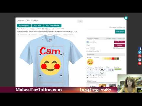 Custom T-Shirt Design Using Emojis