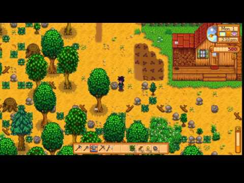 Stardew Valley. E01: The first 2 days.