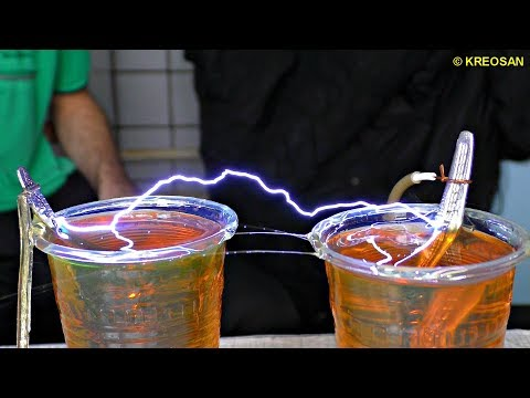 Spreading WATER with electriciy ⚡ Miracles with a million VOLTS!