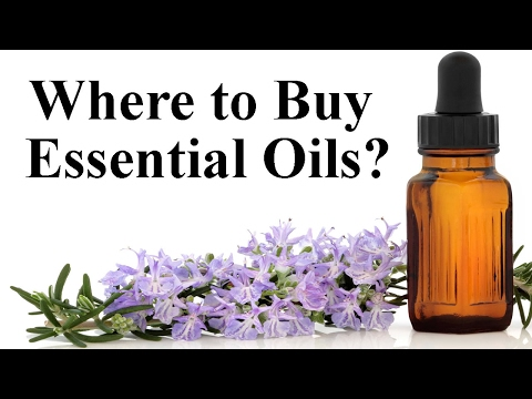 Where to Buy Essential Oils?