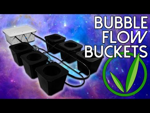 SuperCloset Review | Bubble Flow Buckets | Best Hydroponics System