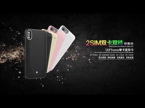 Lcose  Dual sims  2sim for iphoneX