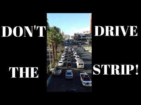 Las Vegas Transportation Tips: Don't Drive on The Strip!