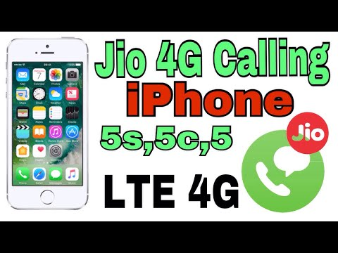 Jio 4G Call LTE iPhone 5s,5c,5 Support Jio SIM