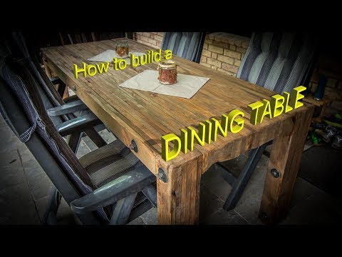 🔨Craftling: Dining Table out of pallet wood