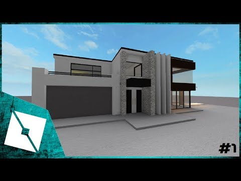 ROBLOX Studio | Modern House [ Building ] #1