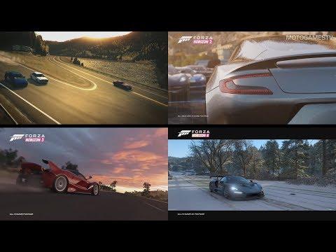 All Forza Horizon Games E3 Trailer Announcements (2012 - 2018)