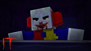 MINECRAFT IT THE CLOWN - THE KIDS ENTER THE SEWERS!