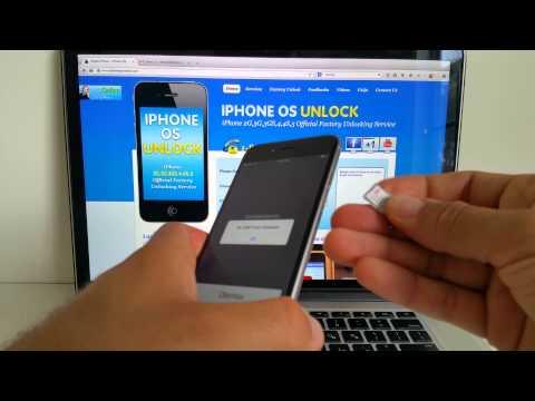 How to Unlock iPhone 6 6+ plus(Apple's Factory Unlock)