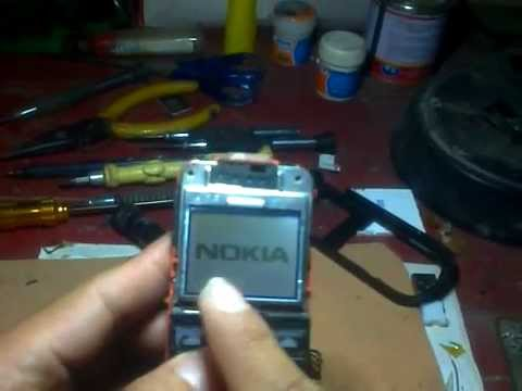NOKIA 1202  Headset Symbol Solution