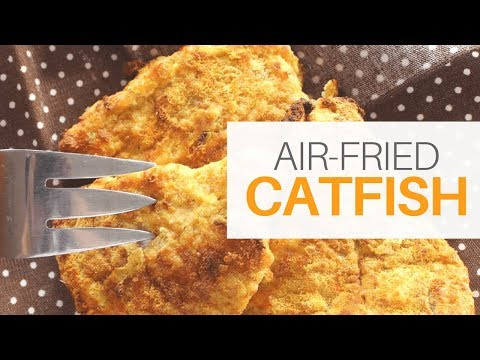 **KETO** Air-Fried Catfish (Low Carb, High Fat)   Paleo   Bulletproof Whey