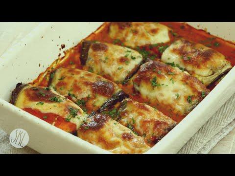 1 Minute Recipe | Eggplant Rollatini