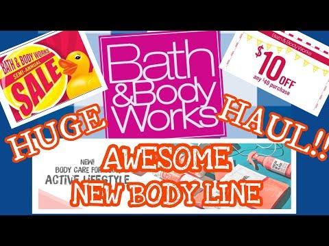 HUGE Bath and Body Works SEMI ANNUAL Sale Haul | 75% OFF