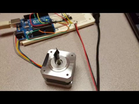 Arduino UNO - Stepper Motor Speed Control