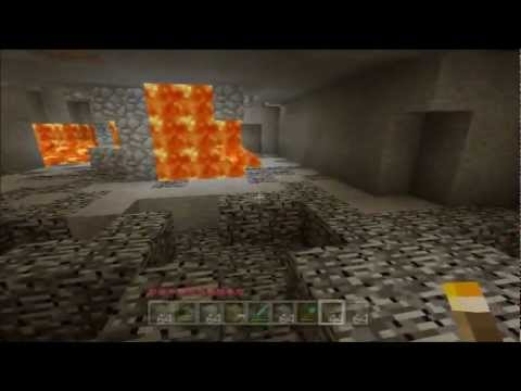 Minecraft for Xbox 360 #74 - Powered Rails, TNT and Mining