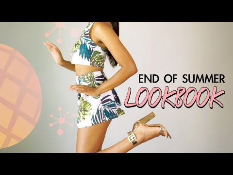 The Affordable & Trendy End of Summer LOOKBOOK | DUA LIPA - New Rules