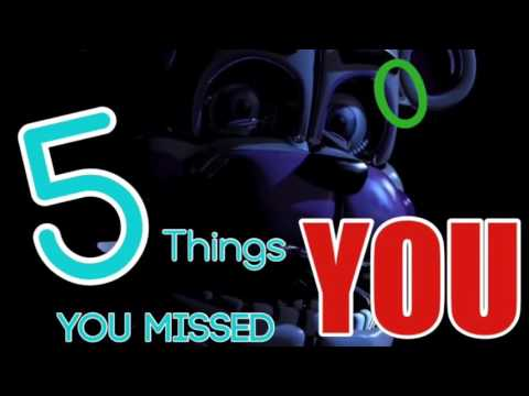 5 Things YOU Missed In The Sister Location Trailer