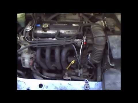 Idle Air Control Valve cleaning. Ford Focus 1.4 16v