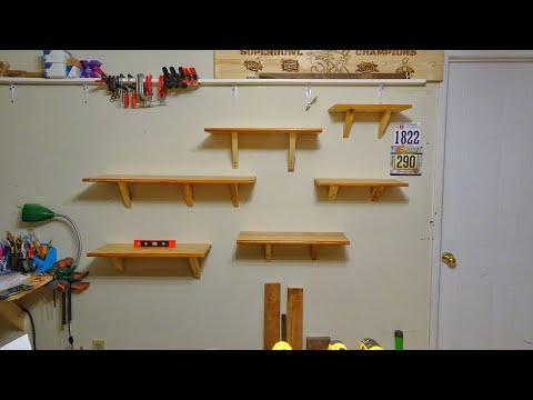 Easy DIY Shelf Brackets From Scrap Wood