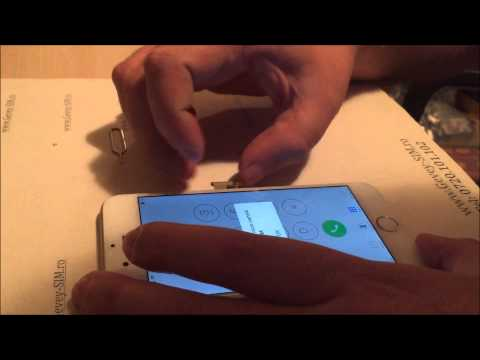 Demonstratie gevey iPhone 6 www.Gevey-SIM.ro