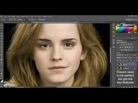 How to Photoshop a Face onto Another Body: Emma Watson and Taylor Swift Face Swap