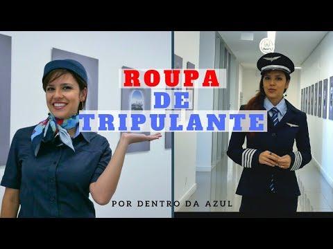 SIGNIFICADO DAS ROUPAS DOS TRIPULANTES DA AZUL