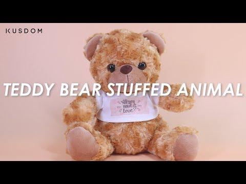 Teddy Bear Stuffed Animal - Design Your Own