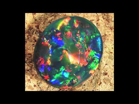 Black Opal - The mother of all gemstones