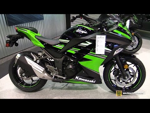 2016 Kawasaki Ninja 300 ABS - Walkaround - 2015 AIMExpo Orlando