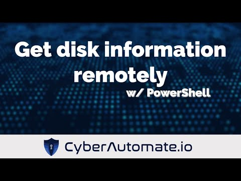 Remotely retrieve disk size, FreeSpace and % of FreeSpace with PowerShell