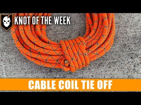 How to Tie Off the Cable Coil - ITS Knot of the Week HD