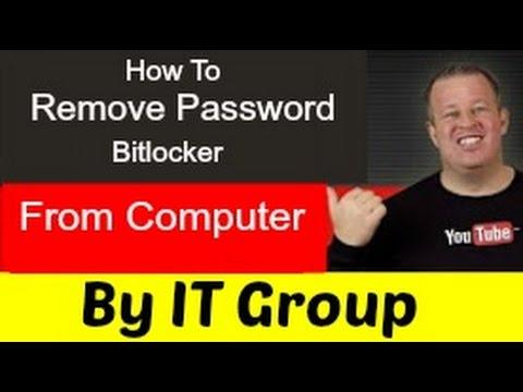How to Remove Password bitlocker from Computer 2016 100% working urdu/hindi