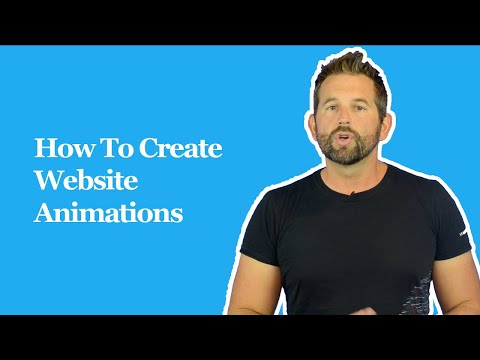 How To Create Website Animations