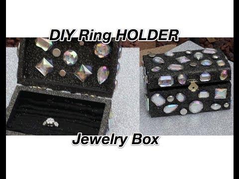 DIY Jewelry box /Ring Holder  **HOLIDAY GIFT IDEA**